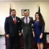 With Texas Workforce Commissioner Julian Alvarez