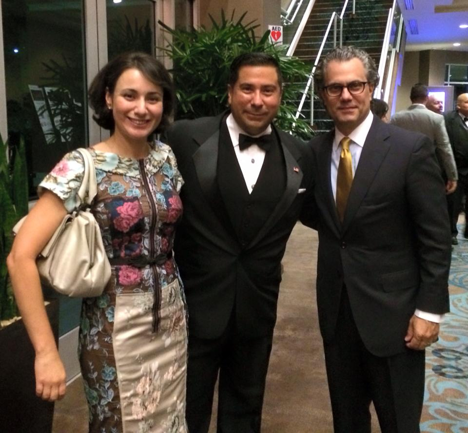 Ernie Gonzalez with State Representative Elect Gina Hinojosa and her husband John Phillip